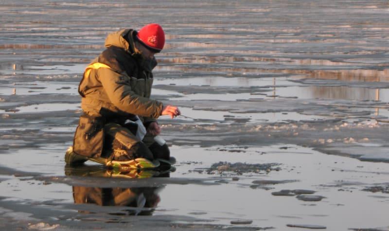 Рыбалка на последнем льду