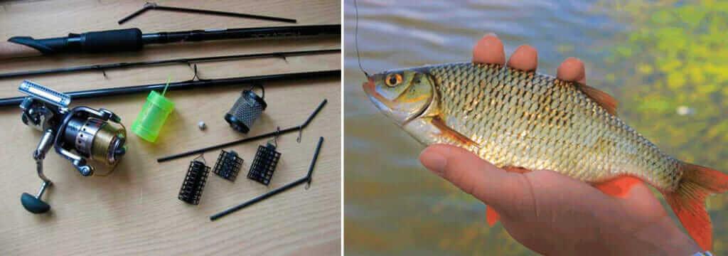 Рыбалка на фидер весной на реке