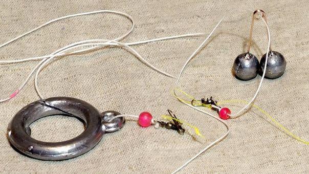 Рыбалка на кольцо снасть