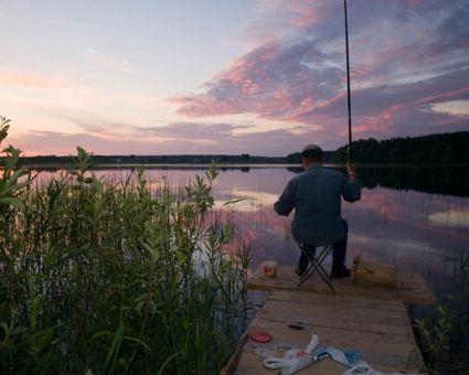 Ловля плотвы летом на поплавочную удочку